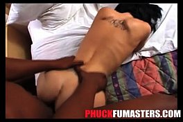 PFM-27-BUBBLE BUTT WHITE GIRL ALLIE SIN TAKES 1ST BIG BLACK DICK AND ASIAN COCK-EXTENDED-FSCENE
