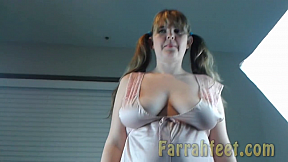 FARRAHFEET.COM-12-4thJuly FeetI get my toenails painted for Independence Day Red, White and Blue.You get to see me in pink lingerie.Come feel how soft my feet are-FSCENE.f4v